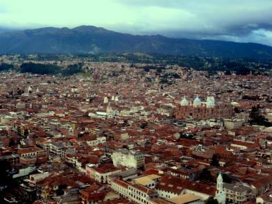 Landing In Cuenca On Aerogal 737