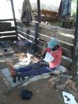 Ebony carver - Near Karatu Tanzania