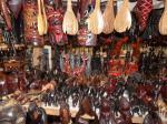 Animals inside ebony shop - Near Karatu Tanzania