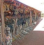 Outside ebony shop - Near Karatu Tanzania