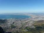 Capetown, South Africa from cablecar