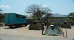 Etosha Campsite - With Benji and Chiyemi