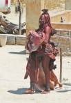 Himba woman and child - Namibia